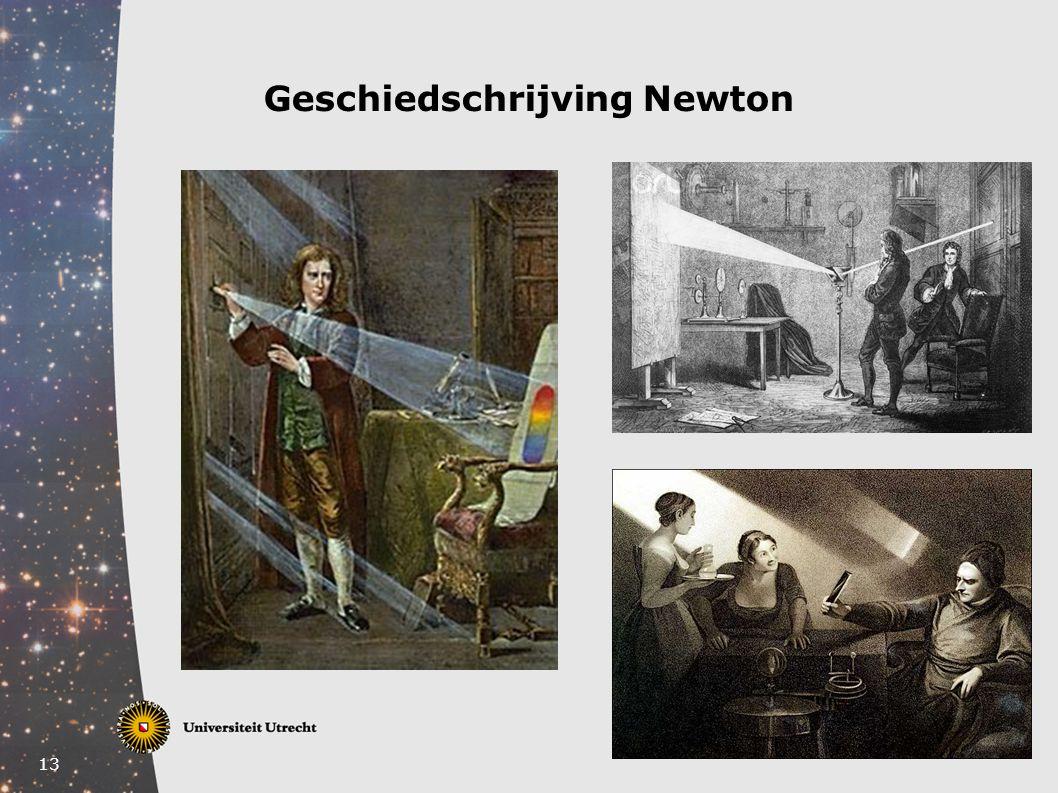 13 Geschiedschrijving Newton