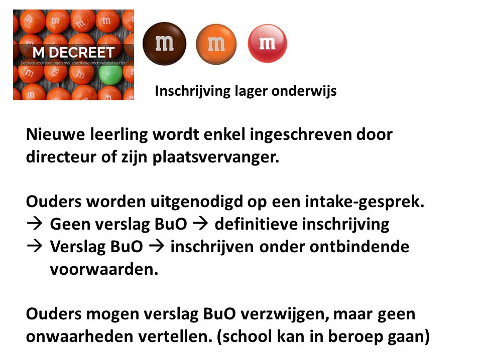 Inschrijving lager onderwijs A.