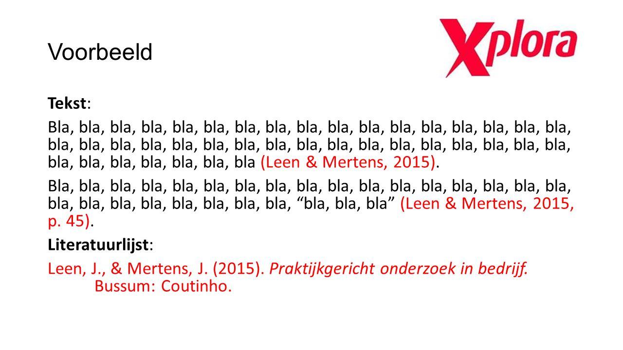 Overzicht aantal auteurs Aantal auteurs of redacteurs Eerste citaat of parafraseTweede en latere citaten en parafrasen Literatuurlijst Eén of twee(Jansen & Vries, 2016) Jansen, J., & Vries, K.