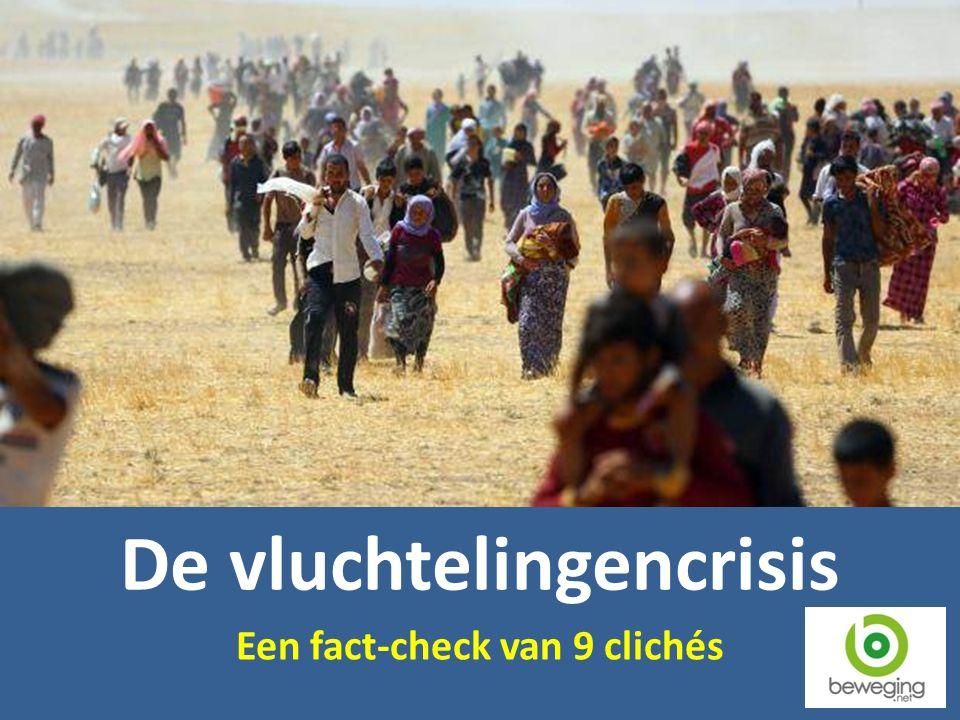 De vluchtelingencrisis Een fact-check van 9 clichés
