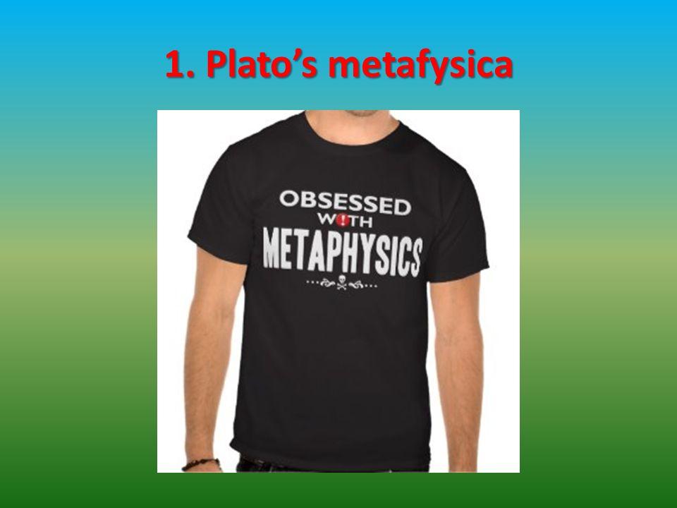 1. Plato's metafysica