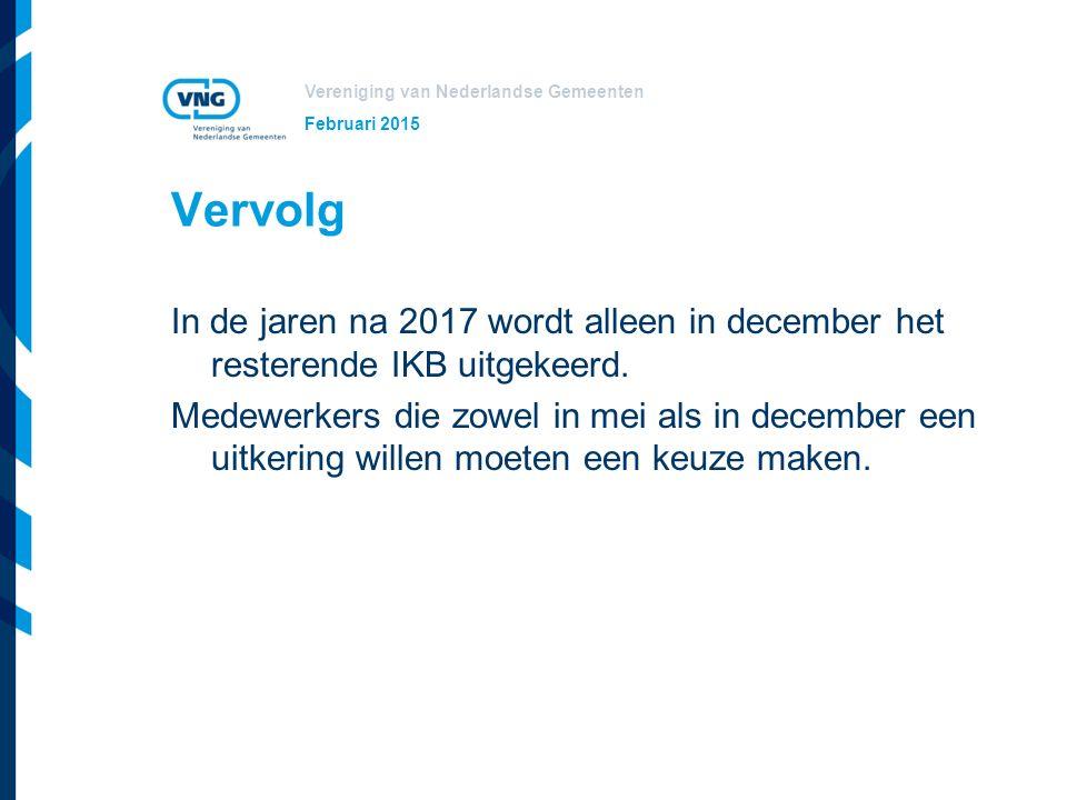 Vereniging van Nederlandse Gemeenten Starten met IKB Keuzemodule aanschaffen.