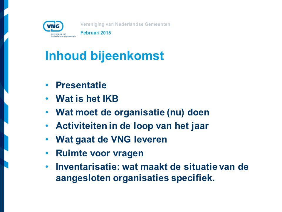Vereniging van Nederlandse Gemeenten Het Individueel Keuzebudget Afspraak in cao akkoord 2013-2015 Doel: Modernisering arbeidsvoorwaarden en meer keuzevrijheid voor de medewerker.