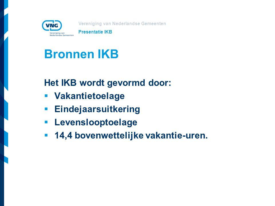 Vereniging van Nederlandse Gemeenten Aanvulling bronnen lokaal Lokale aanvulling bronnen is mogelijk.