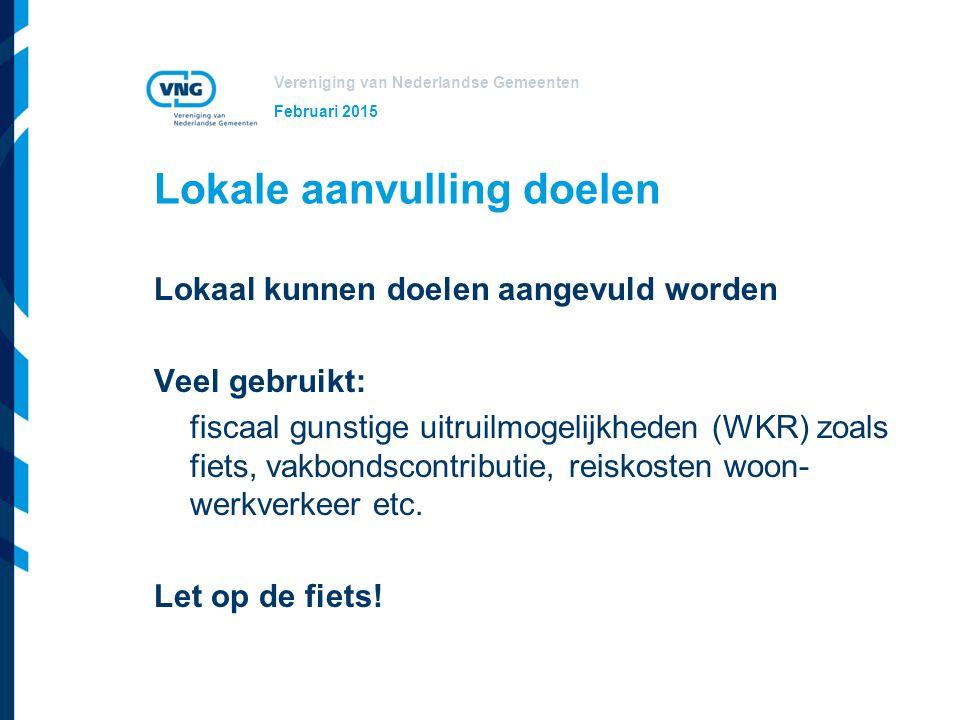 Vereniging van Nederlandse Gemeenten Advies Start per 1 januari 2017 met het basis IKB Februari 2015