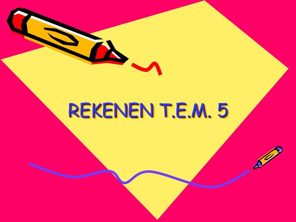 REKENEN T.E.M. 5