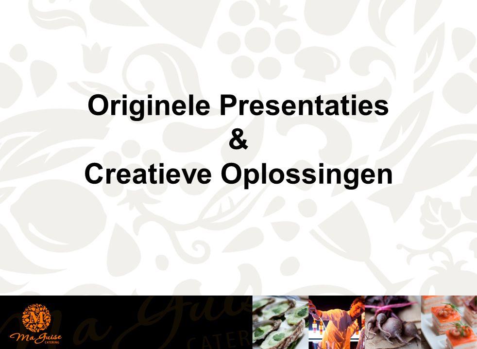 Originele Presentaties & Creatieve Oplossingen