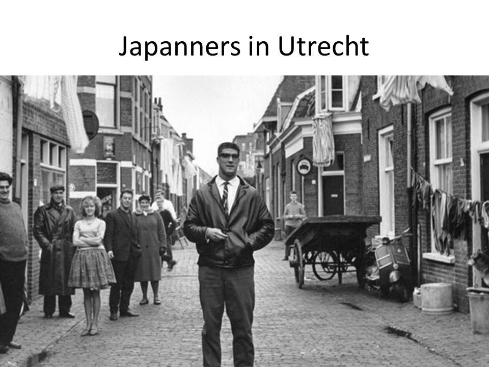 Japanners in Utrecht