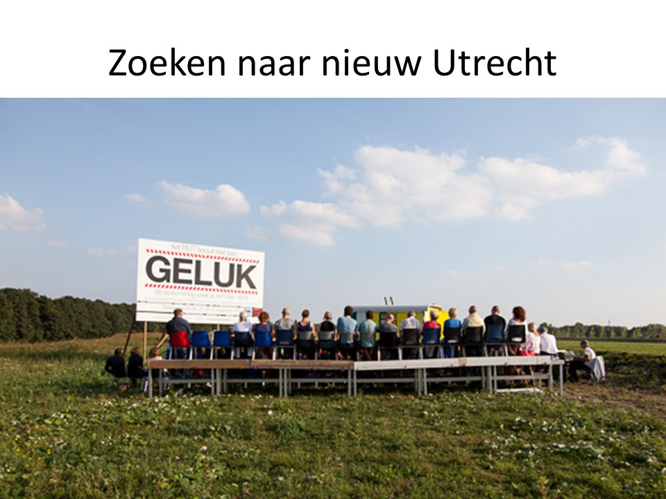 Zoeken naar nieuw Utrecht