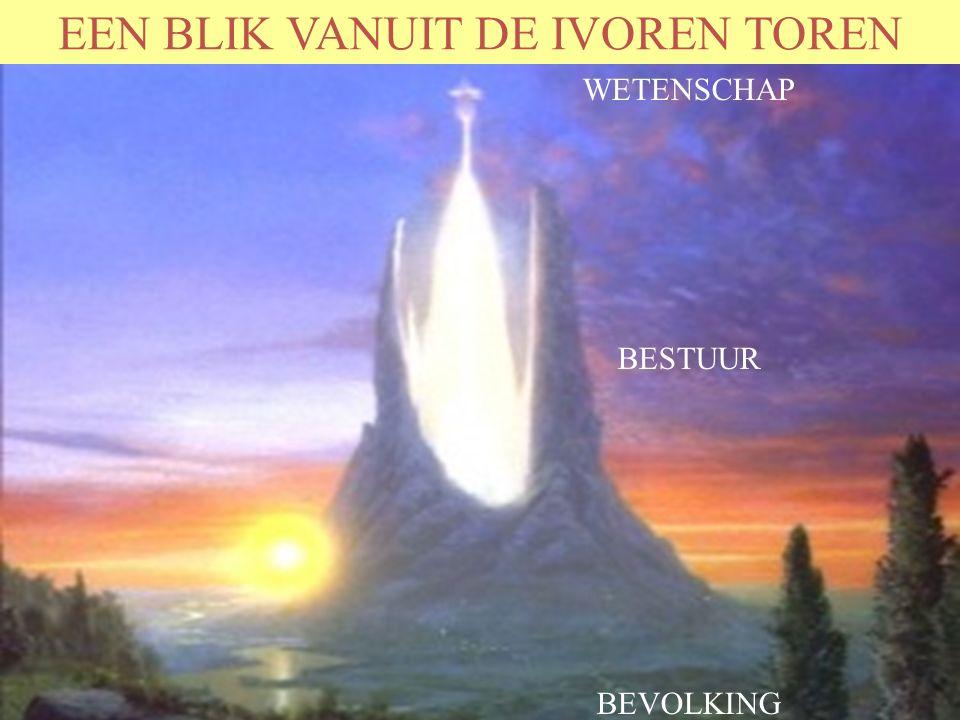 EEN BLIK VANUIT DE IVOREN TOREN WETENSCHAP BESTUUR BEVOLKING