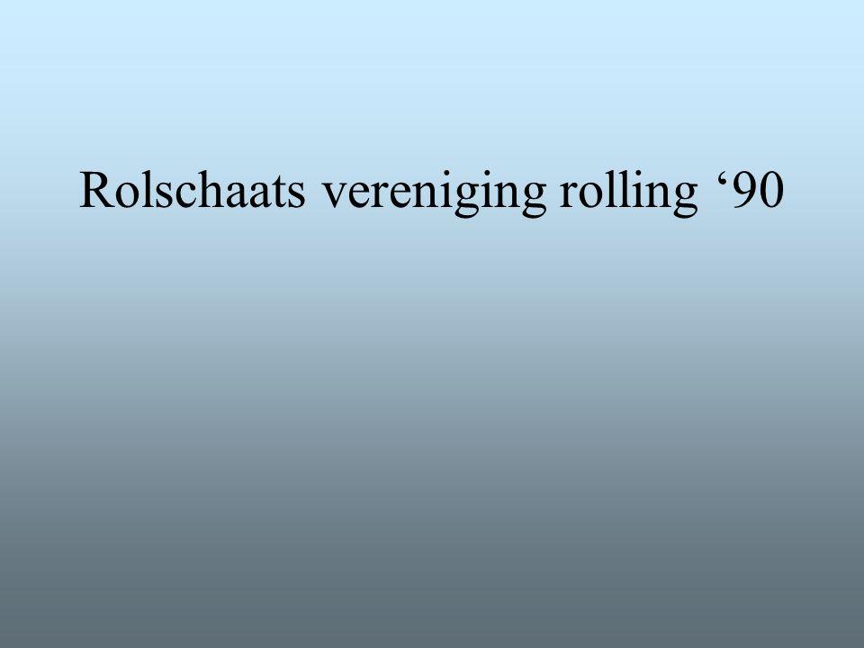 Rolschaats vereniging rolling '90