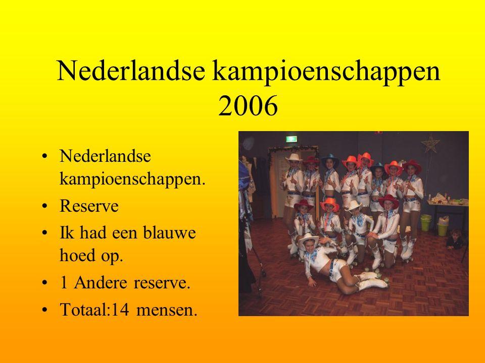 Nederlandse kampioenschappen 2006 Nederlandse kampioenschappen.