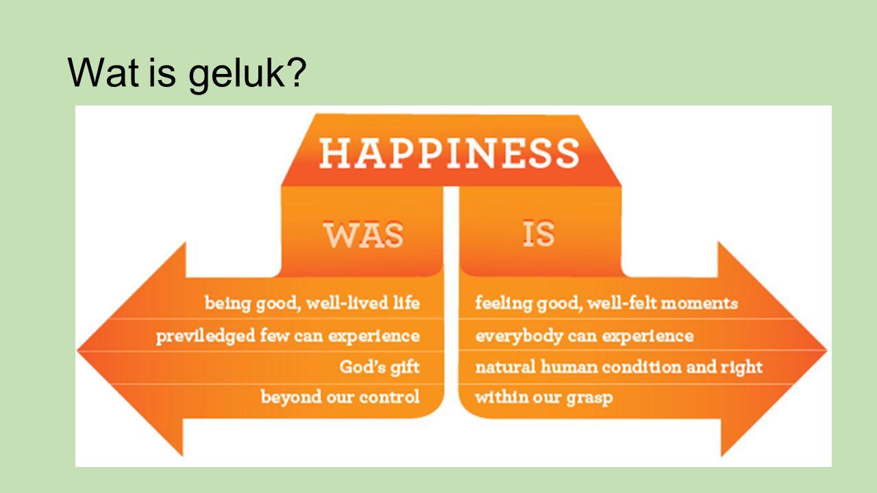 Wat is geluk?