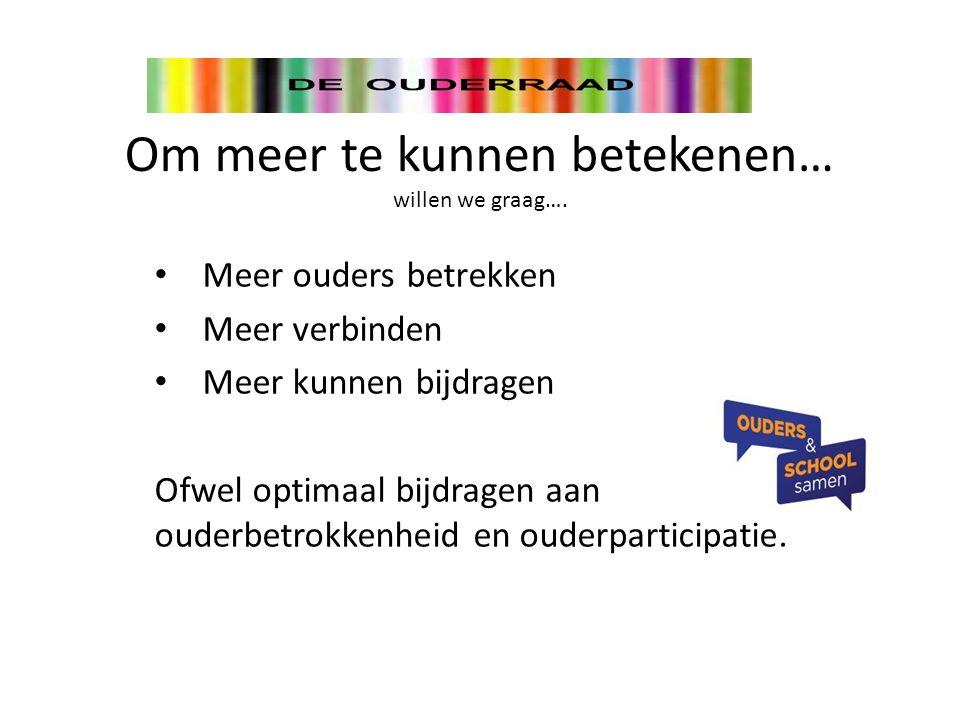 activiteitencommissie Verkeer en veiligheid groepsouders Ouderinitiatief Werkgroep Hoe….