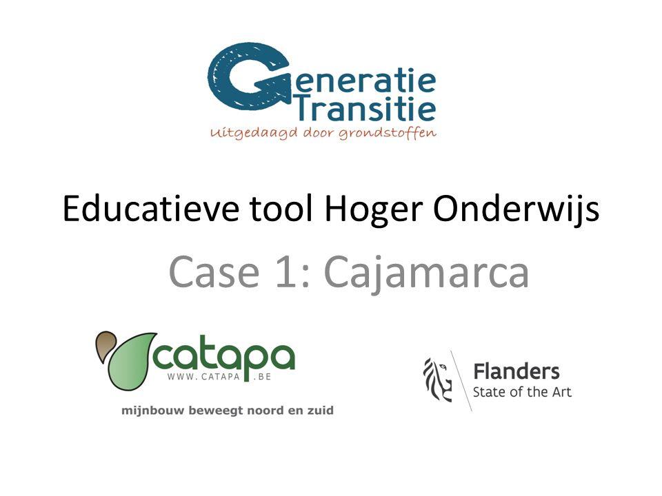 Educatieve tool Hoger Onderwijs Case 1: Cajamarca