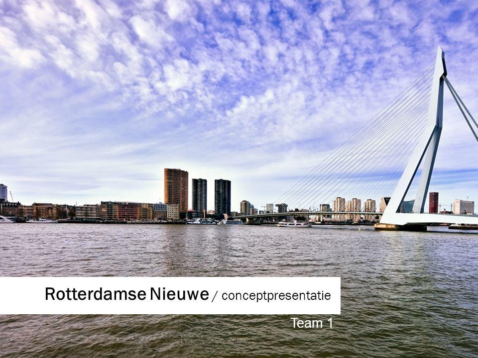 Rotterdamse Nieuwe / conceptpresentatie Team 1