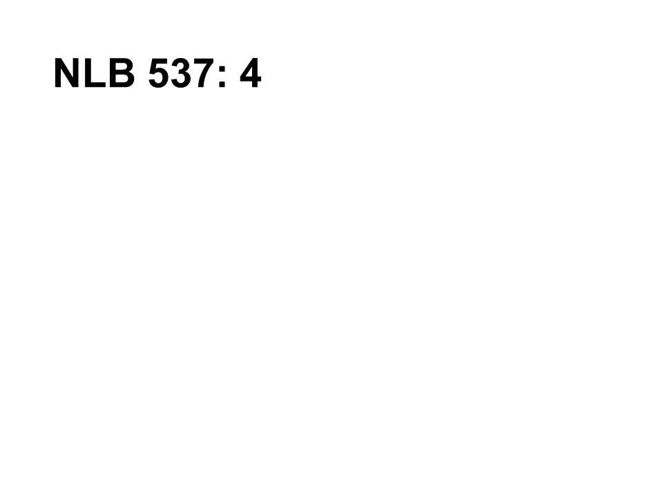 NLB 537: 4
