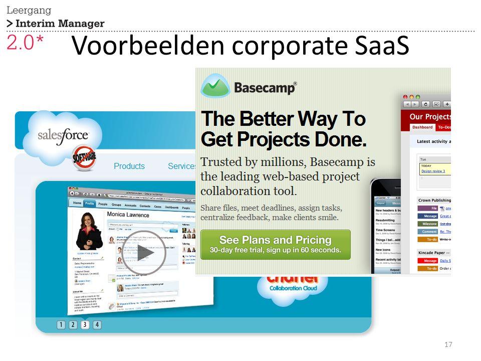 Voorbeelden corporate SaaS 17