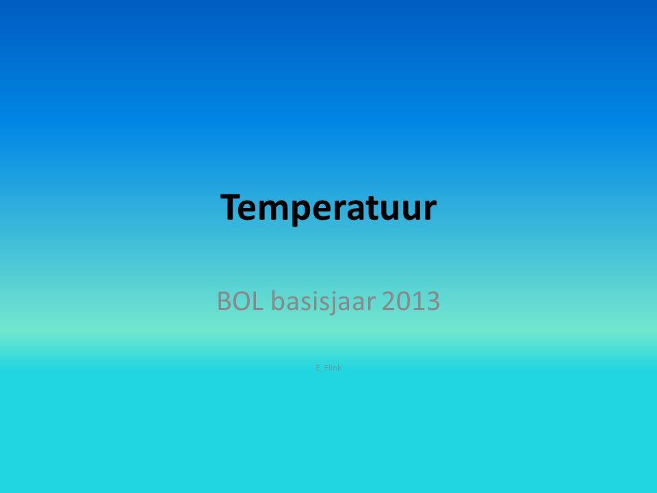 Temperatuur BOL basisjaar 2013 E. Flink