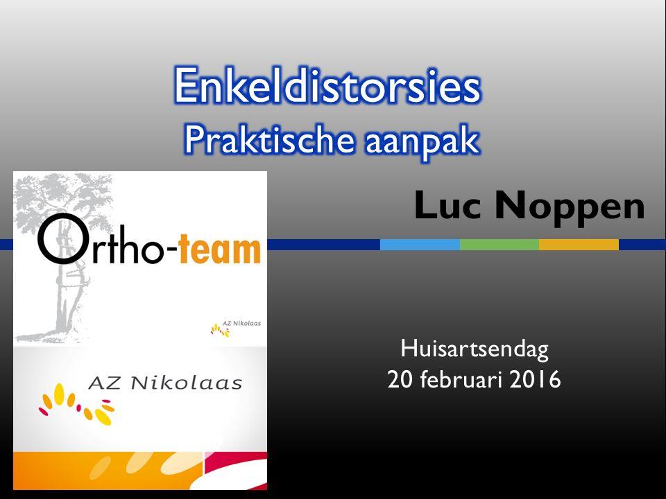 Luc Noppen Huisartsendag 20 februari 2016
