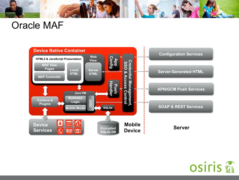 Oracle MAF
