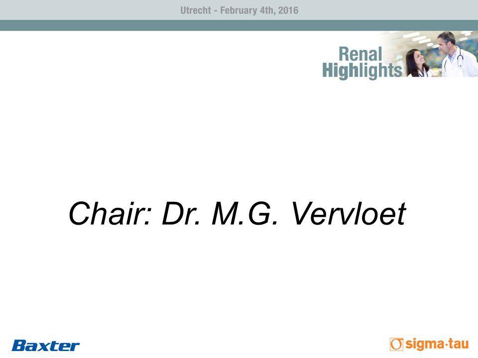 Chair: Dr. M.G. Vervloet