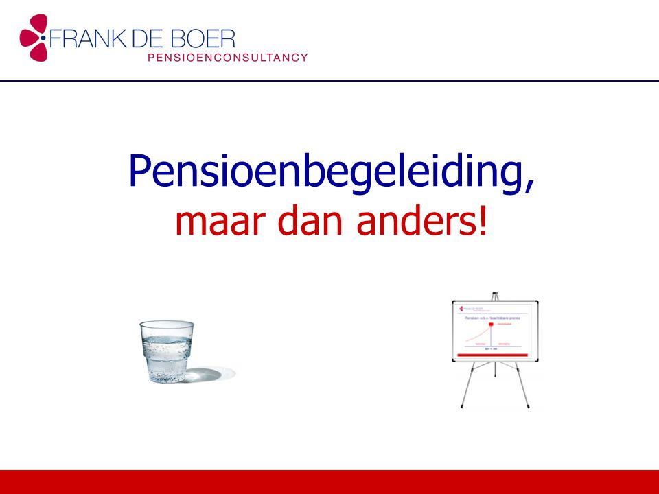 Pensioenbegeleiding, maar dan anders!