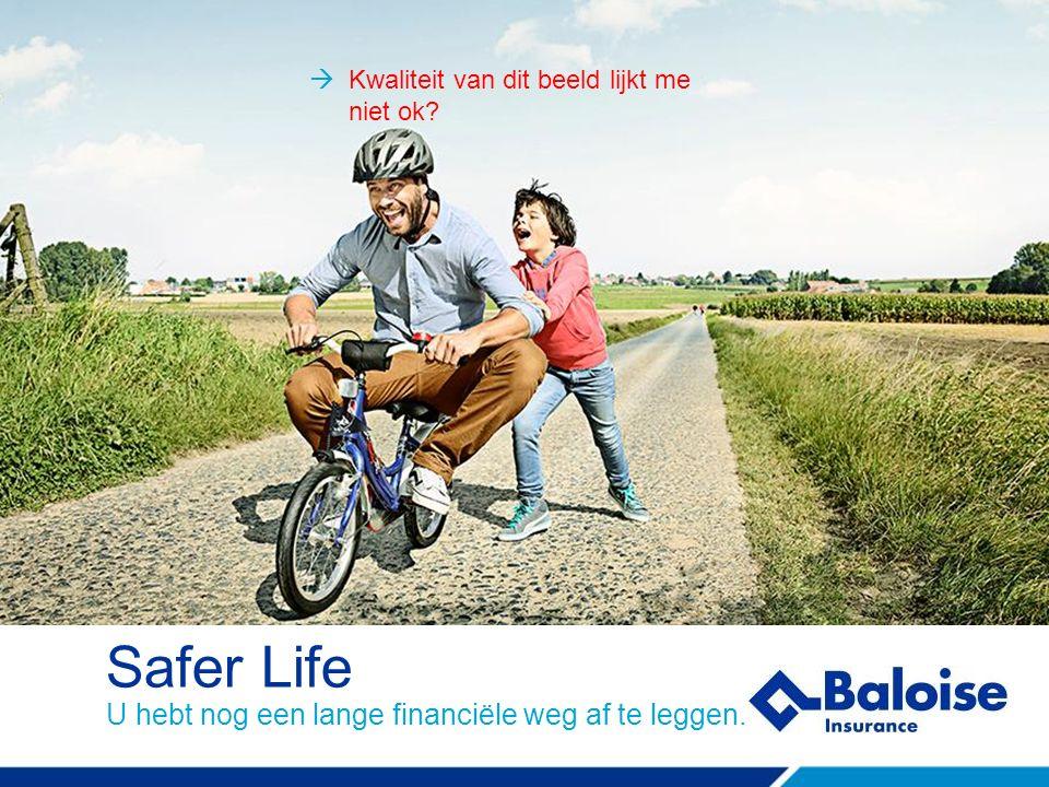 Safer Life U hebt nog een lange financiële weg af te leggen.