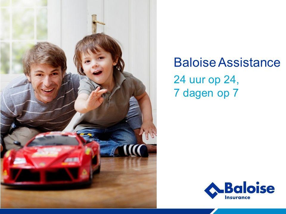 Baloise Assistance 24 uur op 24, 7 dagen op 7