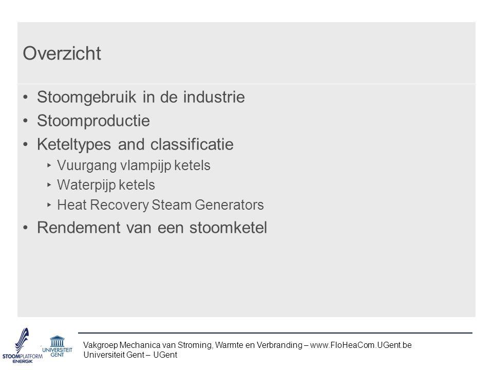 Kookbuizen ketel Vakgroep Mechanica van Stroming, Warmte en Verbranding – www.FloHeaCom.UGent.be Universiteit Gent – UGent