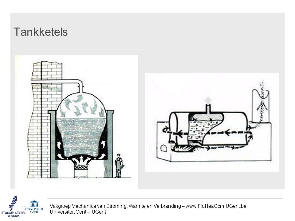 Tankketels Vakgroep Mechanica van Stroming, Warmte en Verbranding – www.FloHeaCom.UGent.be Universiteit Gent – UGent