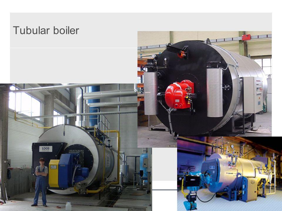 Tubular boiler