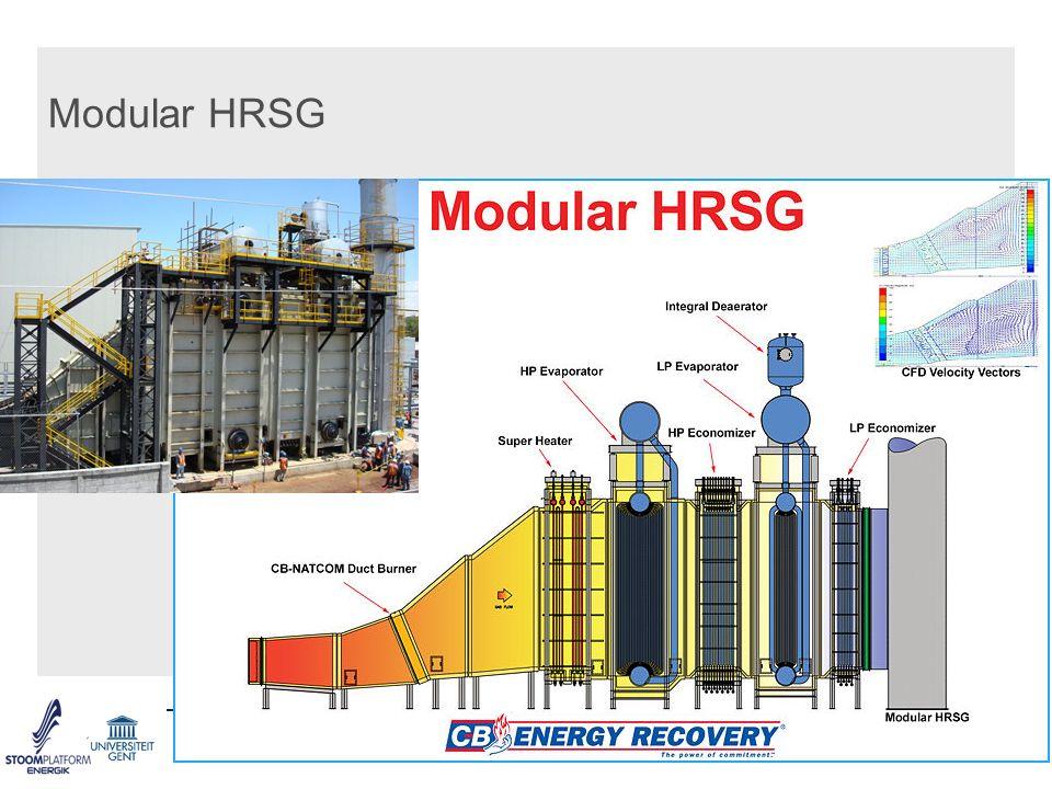 Modular HRSG