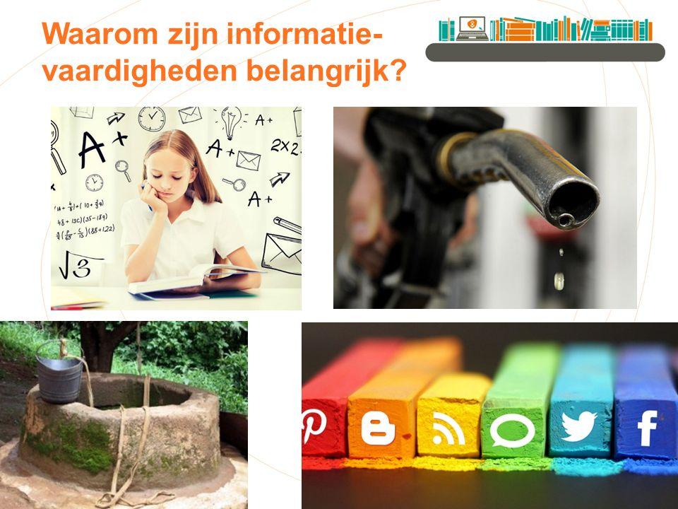 Waarom zijn informatie- vaardigheden belangrijk