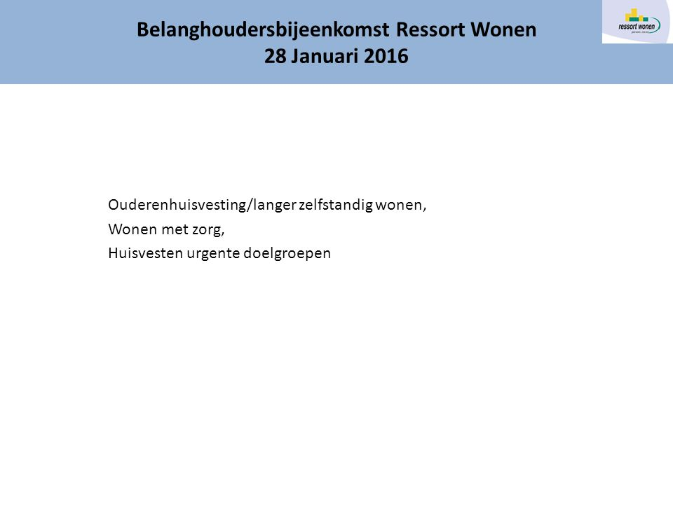 Actief woningzoekenden 55+  1 e half jaar 151 reacties, 2 e half jaar 109, - verschil terug te voeren op plaatsaanduiding Rozenburg in Woonnet  Verhuringen 35 waarvan 25 gelabeld als senioren/ouderenhuisvesting  Gemiddelde slaagkans; - Rozenburg 3,2% - 55+ 13,5% (2 e halfjaar zelfs 15,6%)