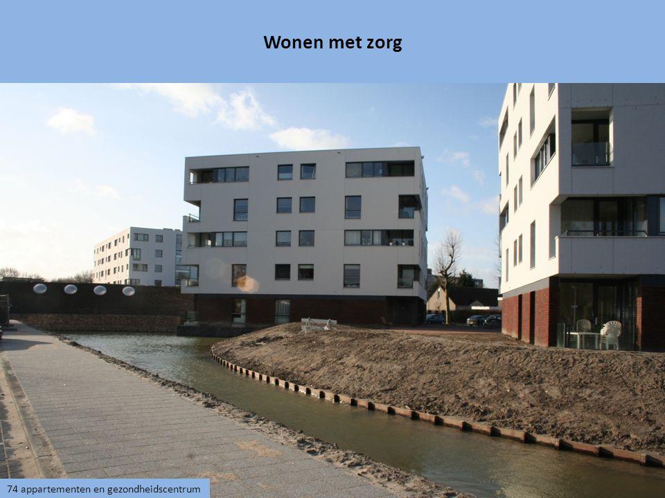 Wonen met zorg 74 appartementen en gezondheidscentrum