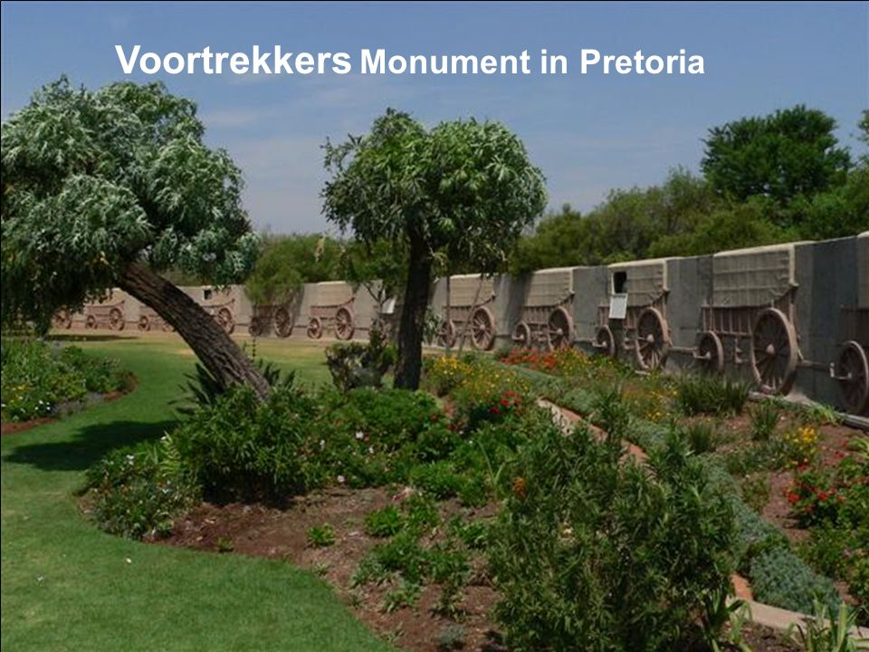 Voortrekkers Monument in Pretoria