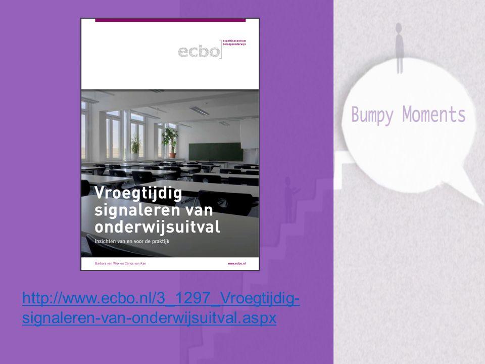 http://www.ecbo.nl/3_1297_Vroegtijdig- signaleren-van-onderwijsuitval.aspx