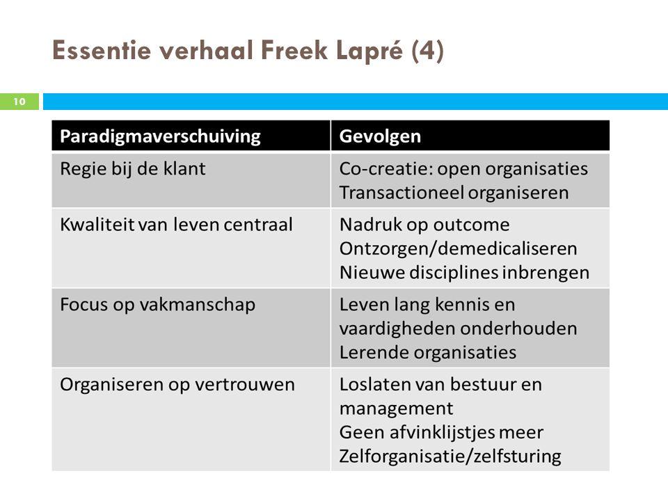 Essentie verhaal Freek Lapré (4) 10