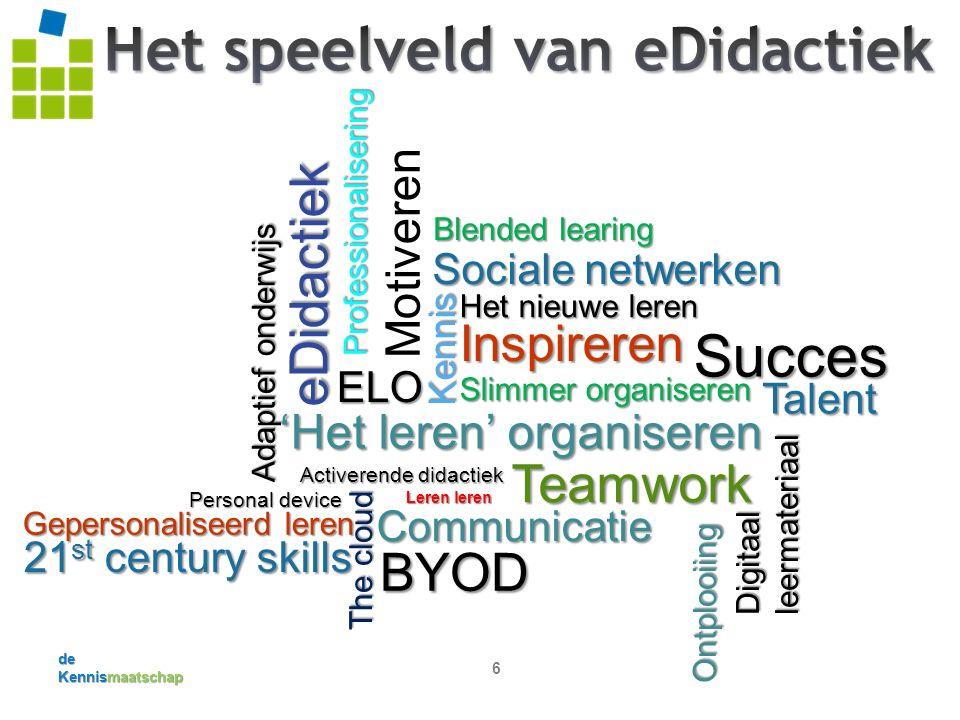 de Kennismaatschap 7 www.tpack.nl