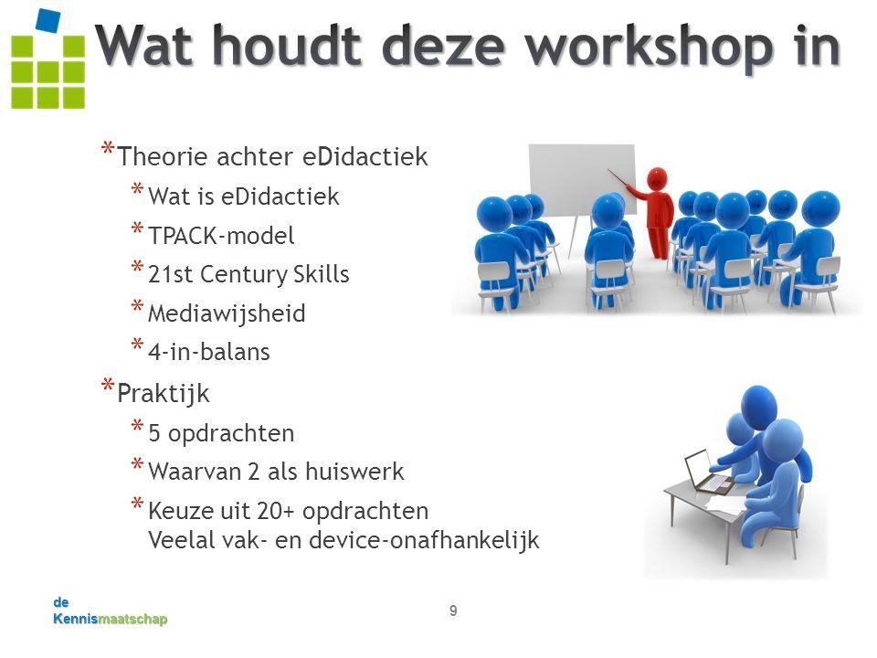 de Kennismaatschap 30 Activerende Didactiek leerling docent management eDidactiek Passief Actief Interactief Effectief Mediawijsheid