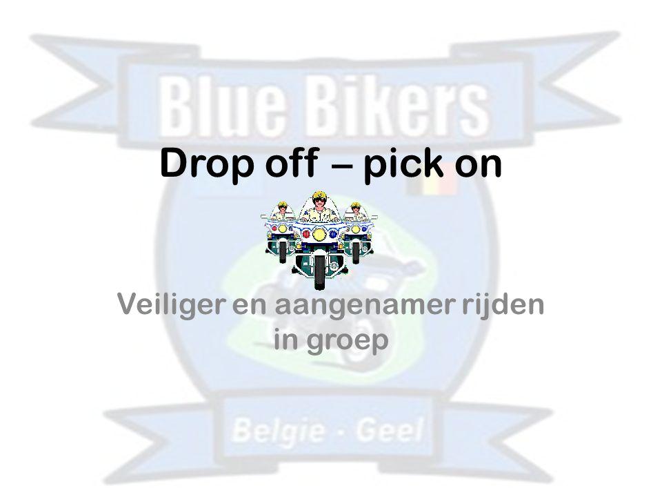 Drop off – pick on Veiliger en aangenamer rijden in groep