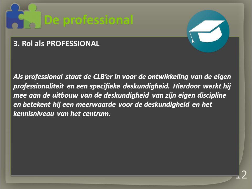 De professional 12