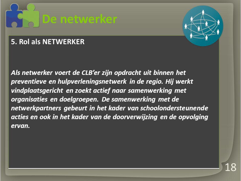 De netwerker 18