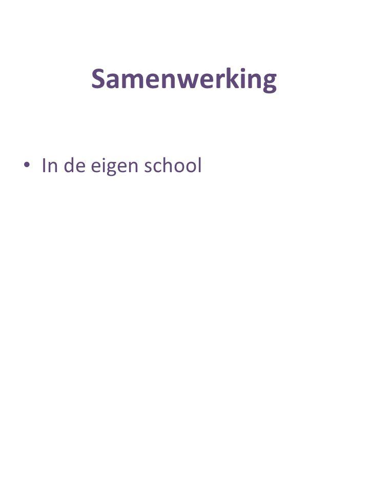 In de eigen school
