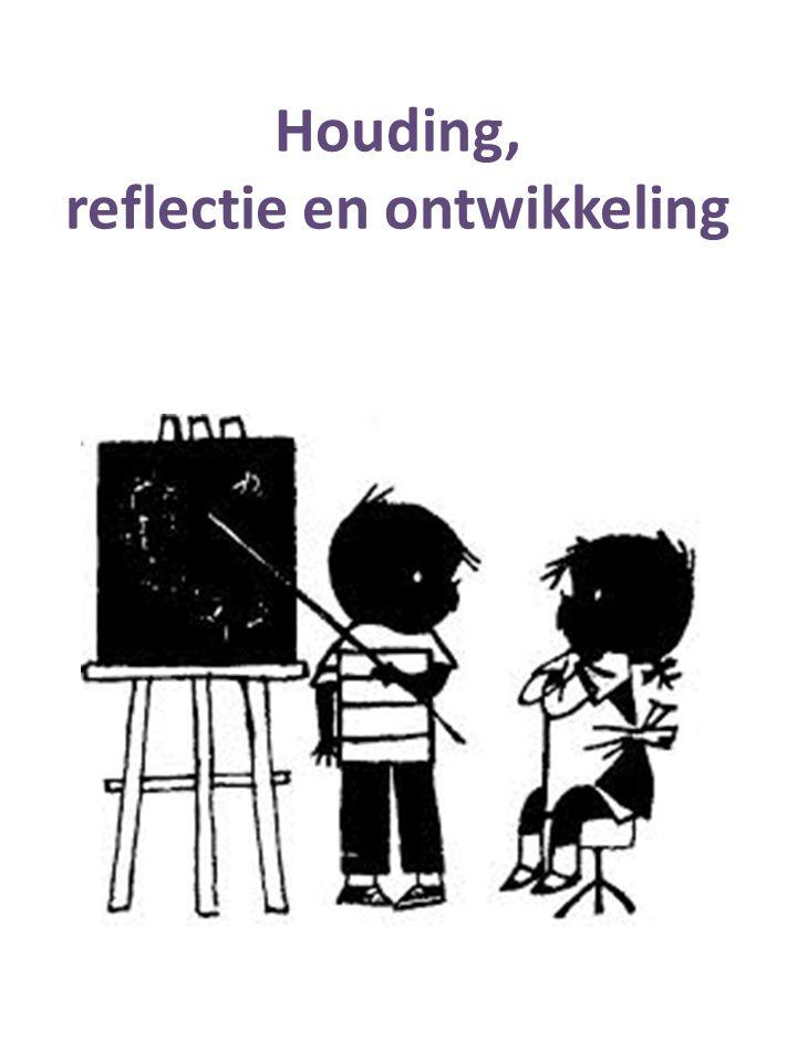 Houding, reflectie en ontwikkeling