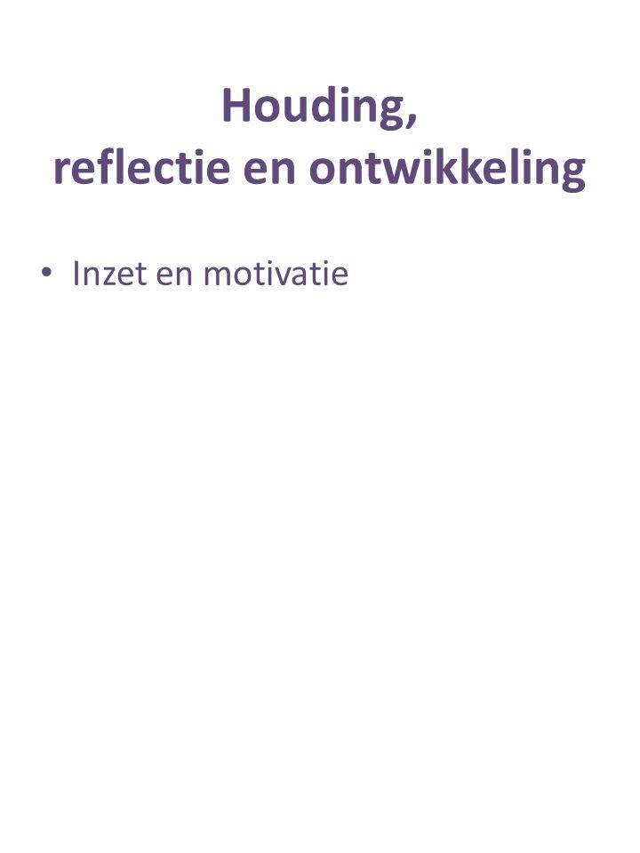 Inzet en motivatie