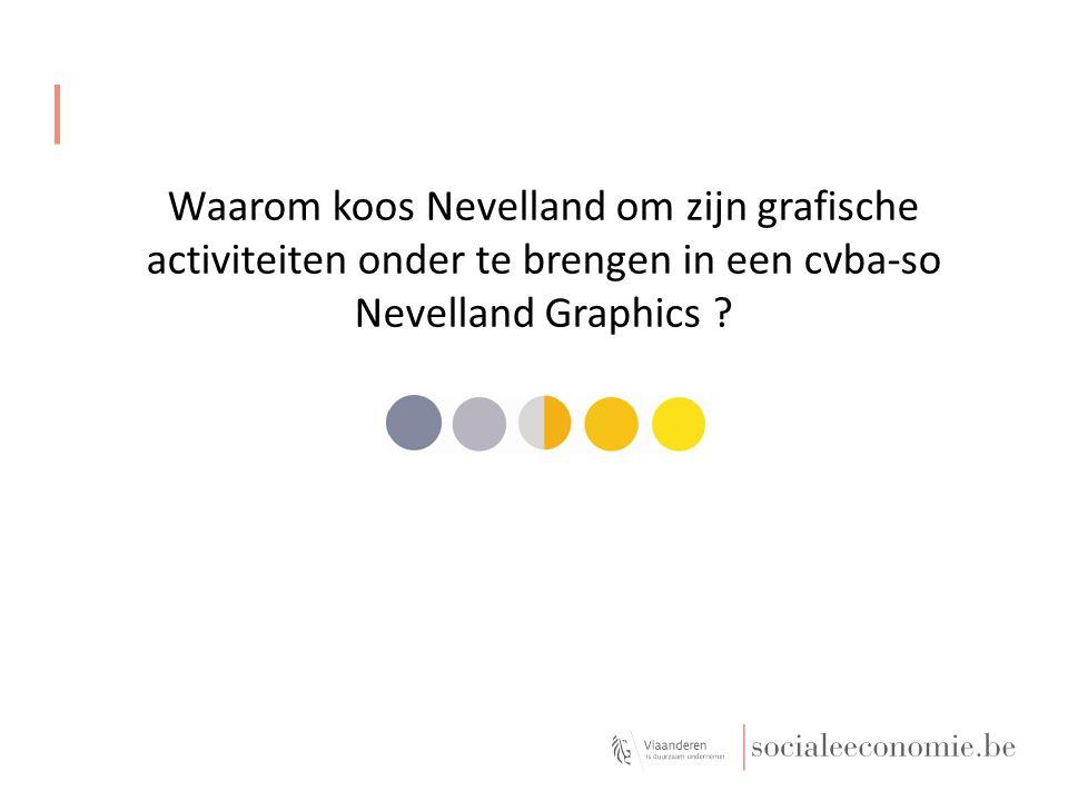Waarom koos Nevelland om zijn grafische activiteiten onder te brengen in een cvba-so Nevelland Graphics