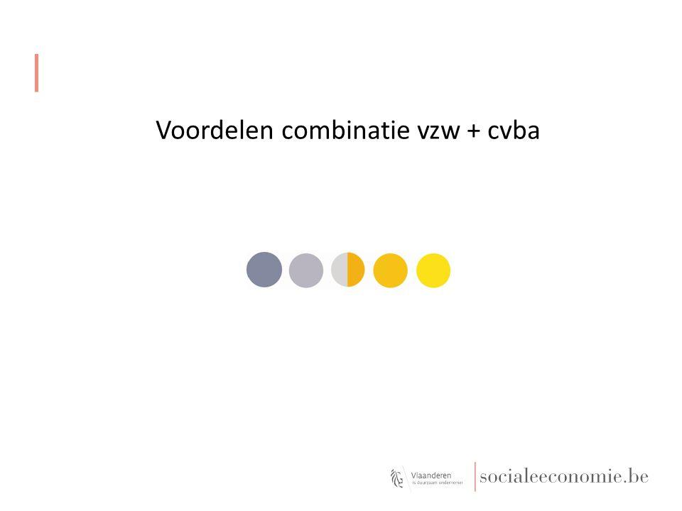Voordelen combinatie vzw + cvba