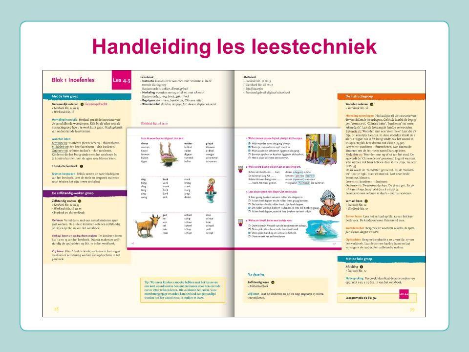 Handleiding les leestechniek
